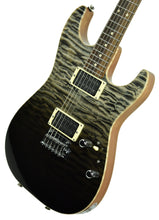 Used Tom Anderson Cobra S Electric Guitar in Black Surf 12-18-17P