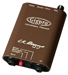 LR Baggs Gigpro Belt Clip Preamp - The Music Gallery