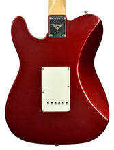 Used 2006 Fender® Custom Shop Chris Fleming Masterbuilt Hybrid Tele in Candy Apple Red | Back Small