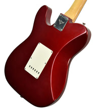 Used 2006 Fender® Custom Shop Chris Fleming Masterbuilt Hybrid Tele in Candy Apple Red | Back Right