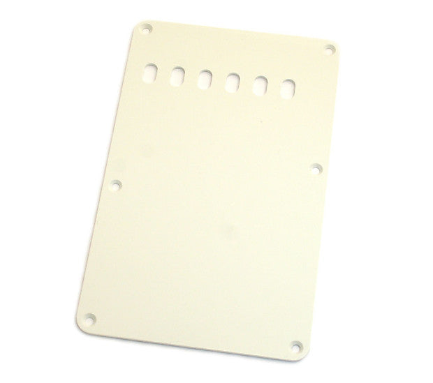 Fender® Pure Vintage Stratocaster Backplate 1-ply Eggshell - The Music Gallery