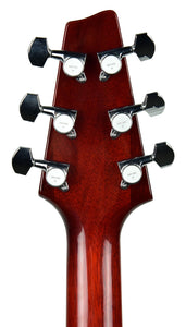 Kurt Wilson Standard in Black Cherry - Headstock Back