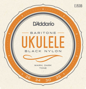 D'Addario EJ53B Pro-Arté Rectified Baritone Ukulele Strings | The  Music Gallery