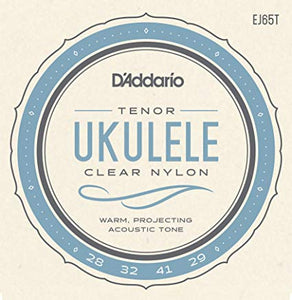 D'Addario EJ65T Pro-Arté Custom Extruded Tenor Ukulele Strings - The Music Gallery