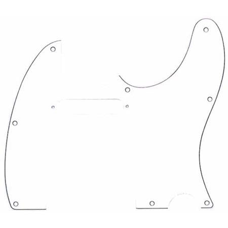 Fender® 3-Ply 8-Hole Pickguard for Telecaster Guitars