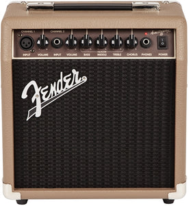 Fender Acoustasonic™ 15 Acoustic Guitar Amplifier CVTI20002763 - The Music Gallery