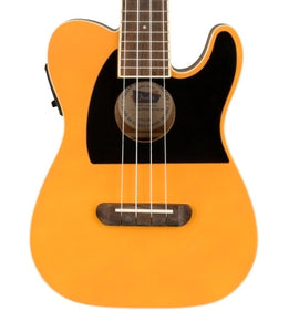 Fender Fullerton Telecaster Ukulele in Butterscotch Blonde CAU2005608 - The Music Gallery