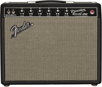 Fender 64 Custom Princeton Reverb 1x10 Combo Amplifier CR392141 - The Music Gallery