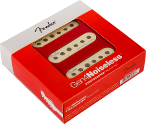 Fender Gen 4 Noiseless Stratocaster Pickups Set