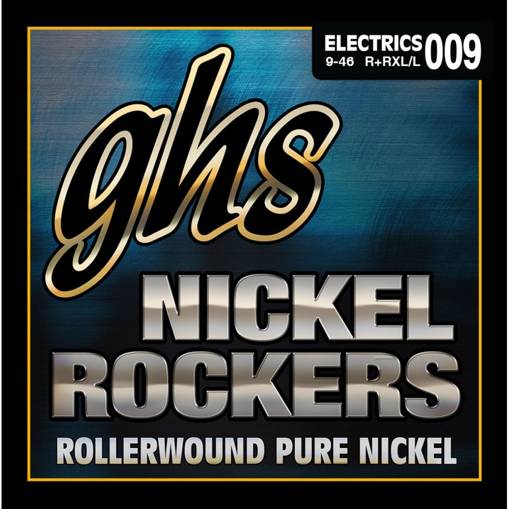 GHS Nickel Rockers .009-.042 Pure Nickel Extra Light Electric Guitar Strings | The  Music Gallery
