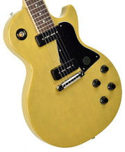 Gibson USA Les Paul Special in TV Yellow 110290202 | The Music Gallery | Front Angle 1