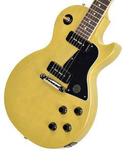 Gibson USA Les Paul Special in TV Yellow 110290202 | The Music Gallery | Front Angle 2