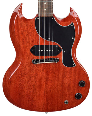 Gibson USA SG Junior in Vintage Cherry | The Music Gallery | Front Close