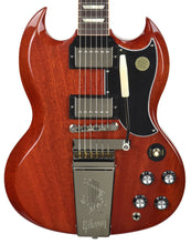 Gibson USA SG Standard 61 Maestro Vibrola in Vintage Cherry 111290055 - The Music Gallery