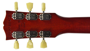USED 2009 Gibson Les Paul Traditional Plus in Cherry Sunburst 009790638 | The Music Gallery | Headstock Back