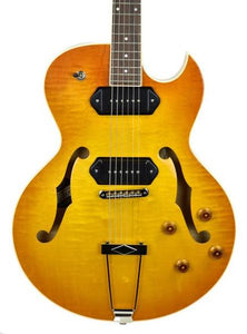 Heritage H-525 in Vintage Sunburst - Front Close