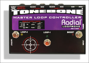 Radial Tonebone Effects Loopbone Loop controller