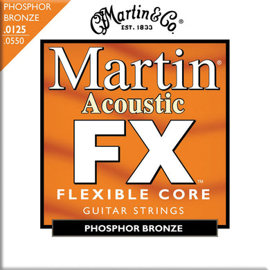 Martin MFX745 .0125-.0550 Flexible Core 92/8 Phosphor Bronze Light/Medium Acoustic Strings