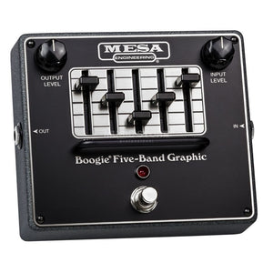 Mesa/Boogie Boogie Five-band Graphic EQ Pedal - The Music Gallery