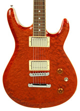 Kurt Wilson Semi-Hollow KW-S7DXL in Trans Amber 13116