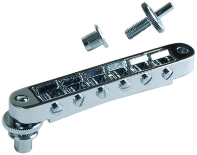 Gibson Nashville Tune-O-Matic Bridge Chrome PBBR-030 - The Music Gallery