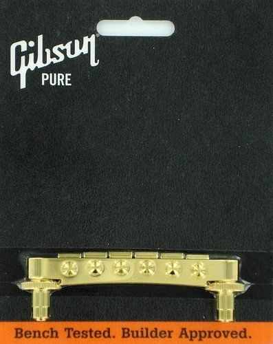 Gibson Nashville Tune-O-Matic Bride Gold PBBR-040