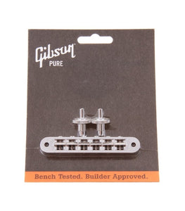 Gibson Nashville Tune-o-matic Bridge Nickel PBBR-045 - The Music Gallery