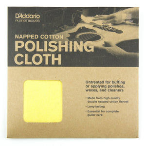 D'Addario Planet Waves PWPC2 Untreated Guitar Polish Cloth | The  Music Gallery