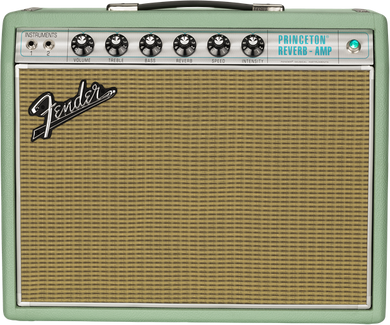Fender Limited Edition 68 Princeton in Surf Green Tolex FNDB792502 - The Music Gallery