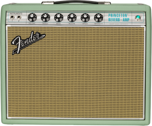 Fender Limited Edition 68 Princeton in Surf Green Tolex FNDB792508 - The Music Gallery