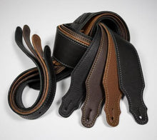 "Franklin 2.5"" Purist Glove Leather Guitar Strap"
