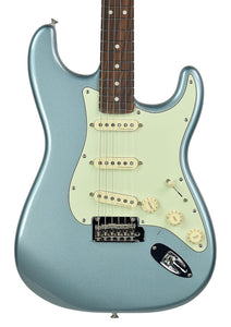 Fender® Deluxe Roadhouse Stratocaster in Mystic Ice Blue - Front