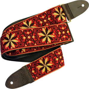"Levy's M8HTV-21 2"" Hootenanny Jacquard Weave Guitar Strap"