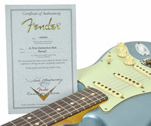 Fender Custom Shop 1963 Stratocaster Journeyman Relic in Ice Blue Metallic | Certificate | The Music Gallery
