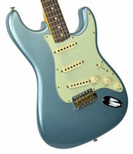 Fender Custom Shop 1963 Stratocaster Journeyman Relic in Ice Blue Metallic | Front Left | The Music Gallery