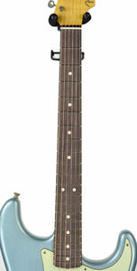 Fender Custom Shop 1963 Stratocaster Journeyman Relic in Ice Blue Metallic | Neck Front | The Music Gallery