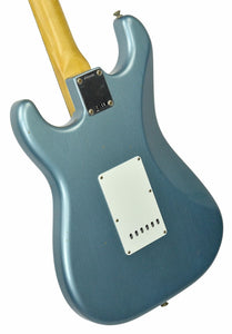 Fender Custom Shop 1963 Stratocaster Journeyman Relic in Ice Blue Metallic | Front Left