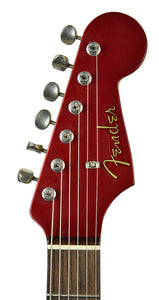 Used 2006 Fender® Custom Shop Chris Fleming Masterbuilt Hybrid Tele in Candy Apple Red | Headstock Front