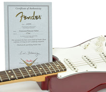Used 2006 Fender® Custom Shop Chris Fleming Masterbuilt Hybrid Tele in Candy Apple Red | Certificate