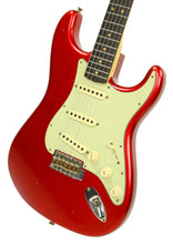 Fender Custom Shop 1963 Stratocaster Journeyman Relic in Candy Apple Red | Front Right | The Music Gallery