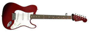 Used 2006 Fender® Custom Shop Chris Fleming Masterbuilt Hybrid Tele in Candy Apple Red | Front Large