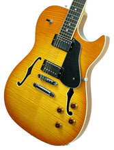 BP Rose Alexis Rose Semi Hollow Body in Honey Burst - Front Right - The Music Gallery