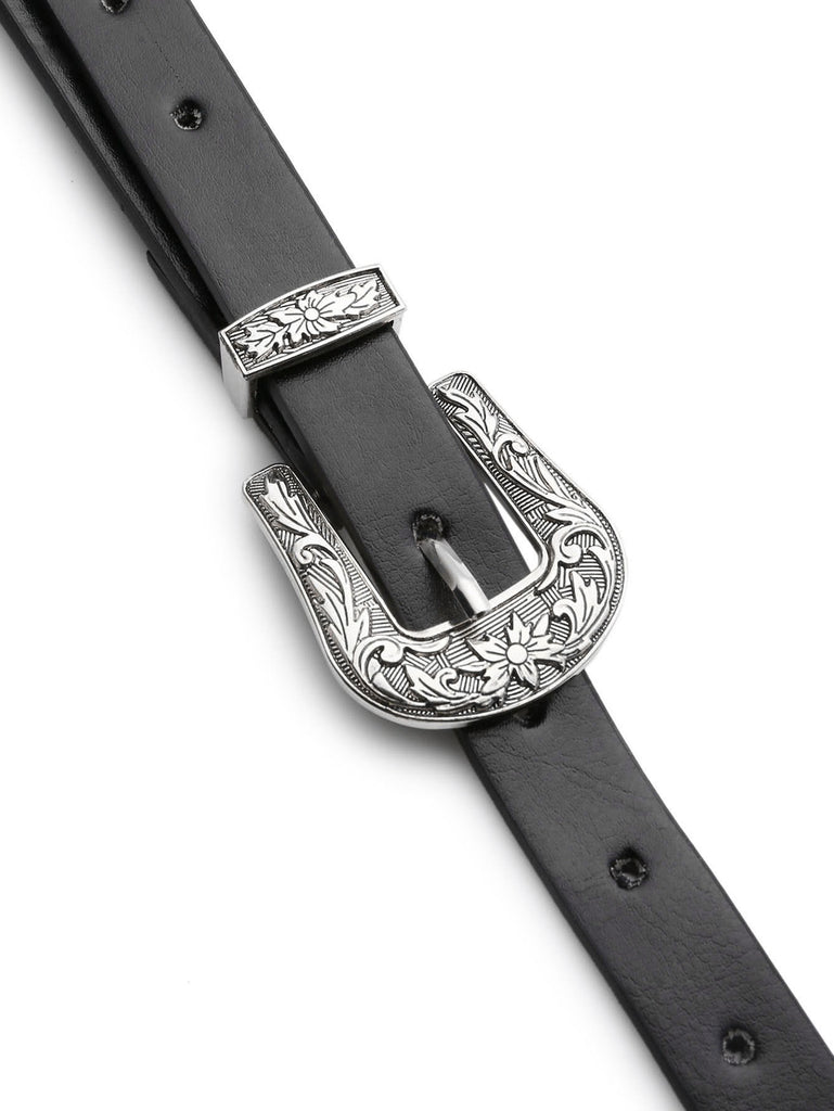 Double Buckle Western Belt (2)