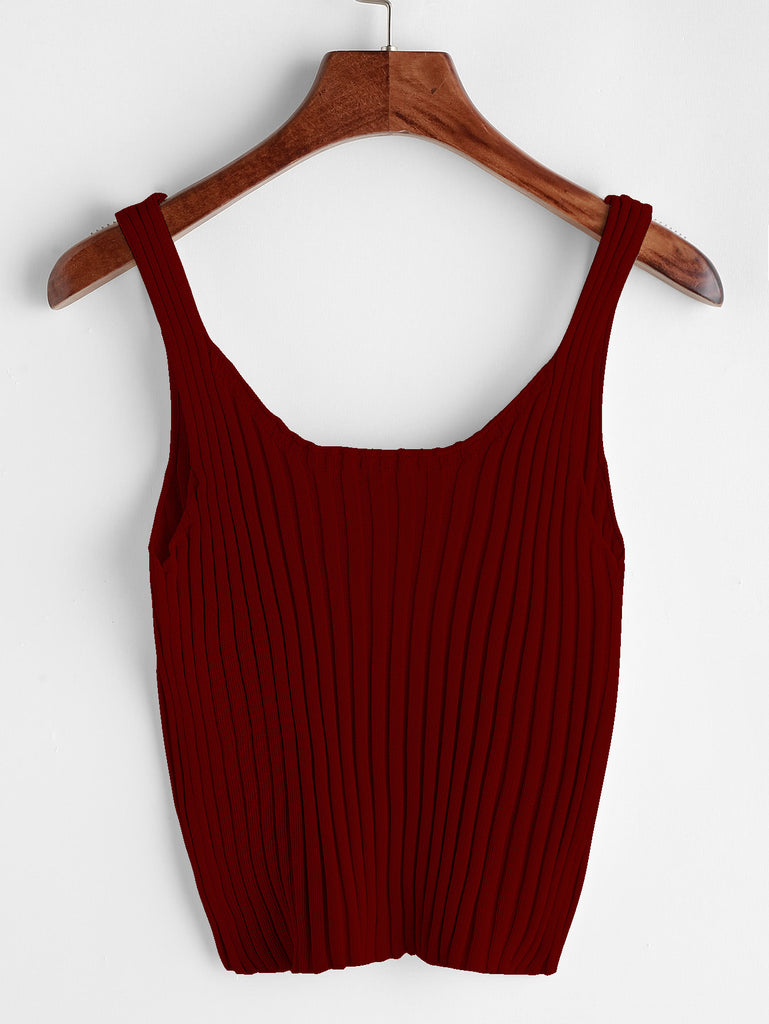 Ribbed Tank Top (2)
