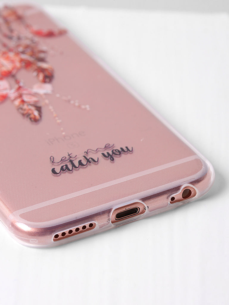 Clear Dreamcatcher Print iPhone Case (2)