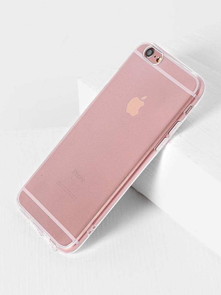 Clear Simple iPhone Case