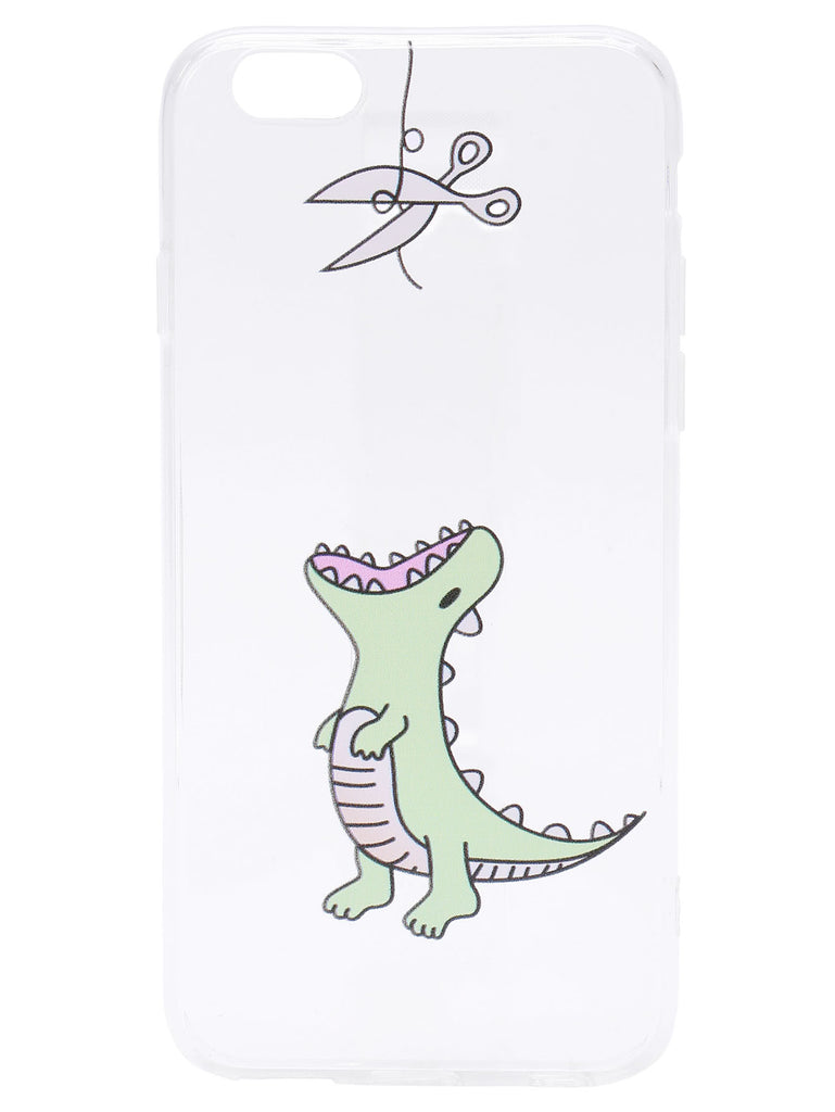 Dinosaur Print Cute iPhone Case (2)