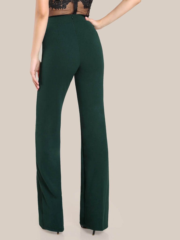 High Rise Piped Dress Pants (2)