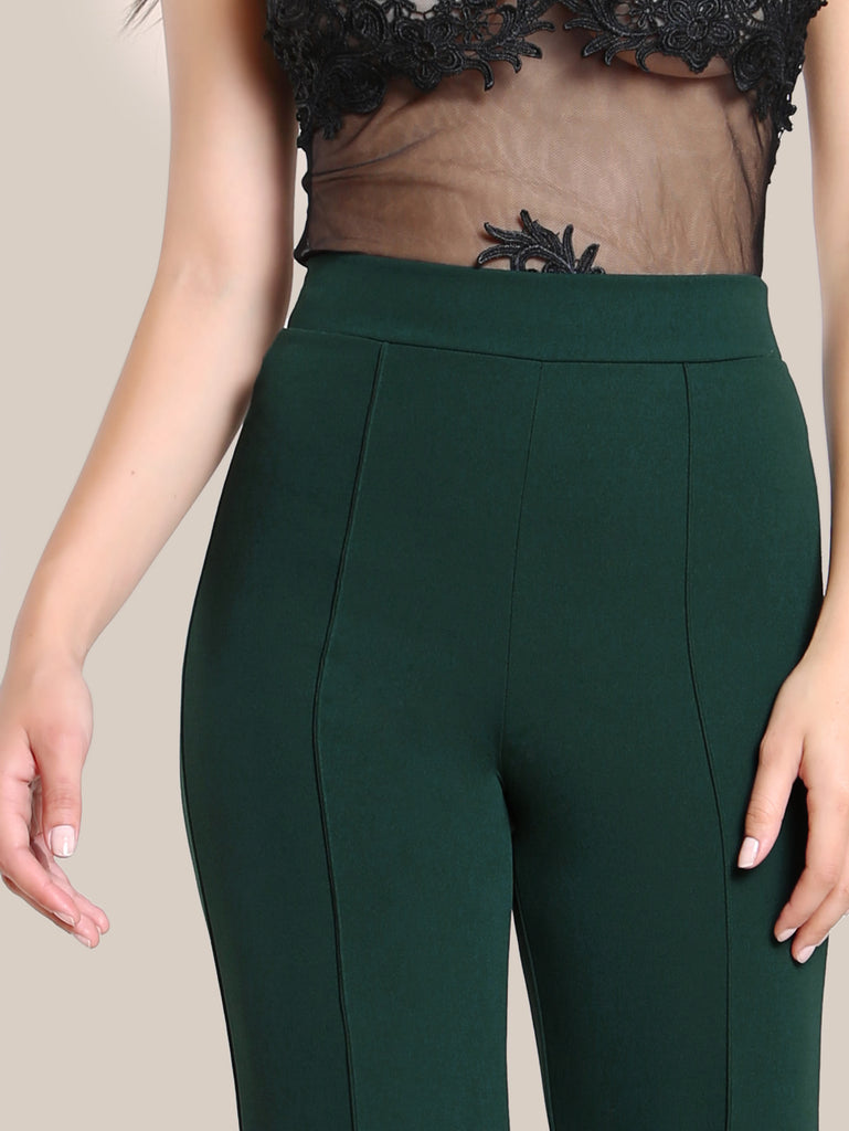 High Rise Piped Dress Pants (3)