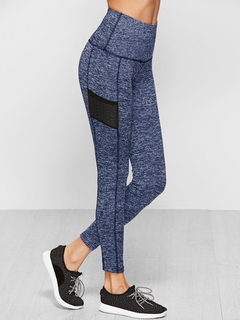 Knit Wide Waistband Leggings (2)